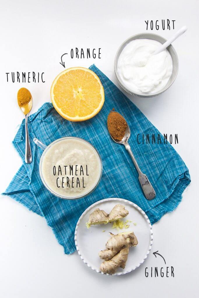 ingredients in immune purées recipe