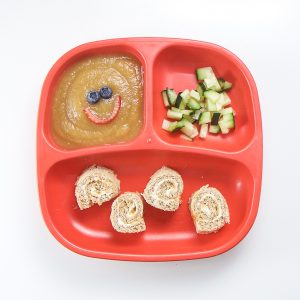 Beech-Nut just apples purée with toddler lunch