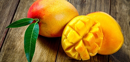 mango and papayas