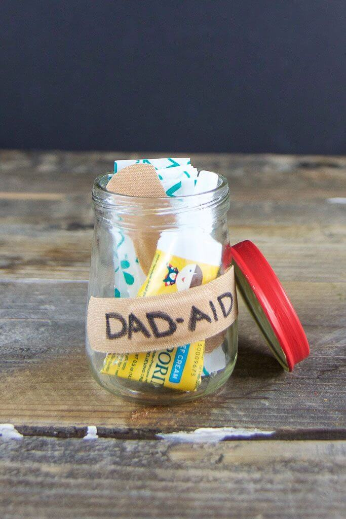 DIY Father's Day dad-aid