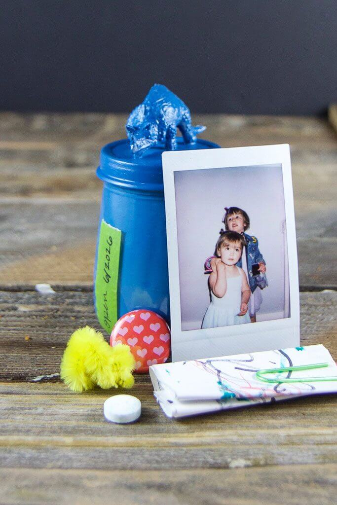DIY Father's Day time capsule