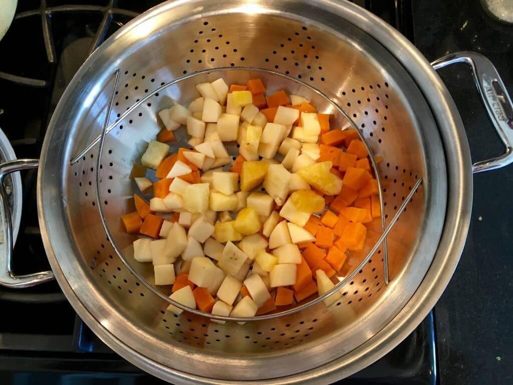 steam new Beech-Nut apple sweet potato pineapple & oat purée ColdPurée pouches